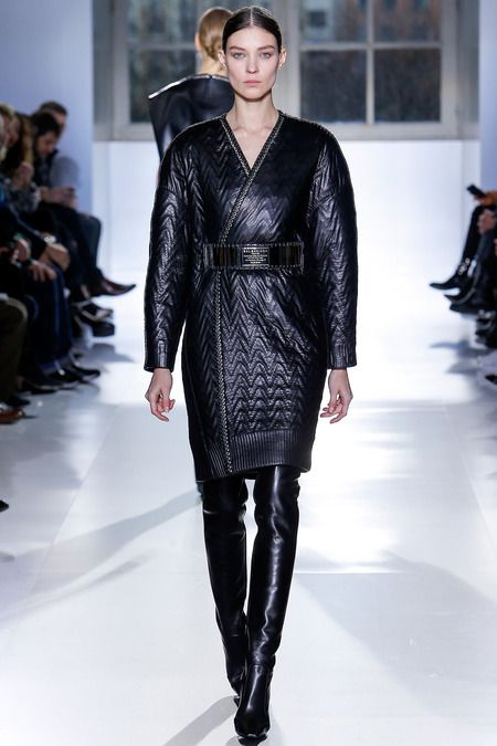 Balenciaga | Fall 2014 Ready-to-Wear Collection | Style.com [Photo: Monica Feudi / Feudiguaineri.com]