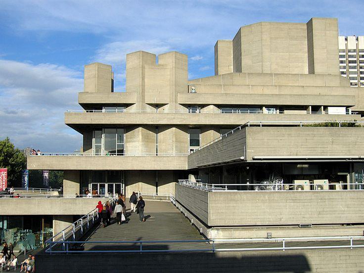 Royal National Theatre London SouthBankCentre02 - Denys Lasdun — Wikipédia