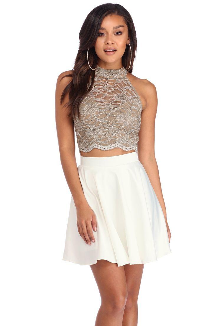 Annalise Mini Dress in Slate. - size XXS (also in L,M) Majorelle London