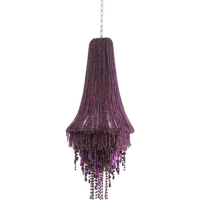 Pendant Lamp Medusa Purple - KARE Design