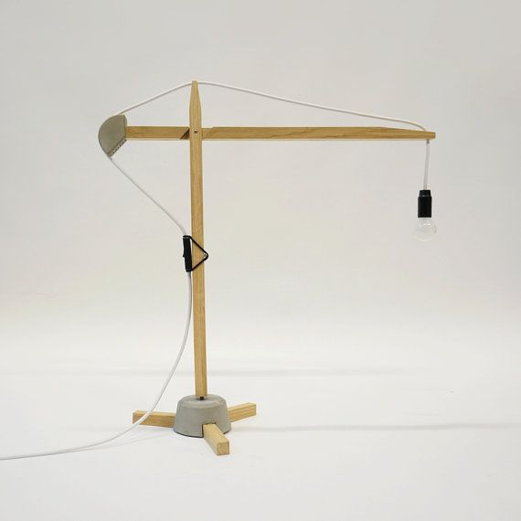 Crane Desk Lamp Custom Light Construction Lamp Nice