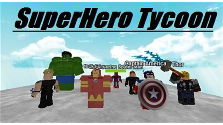 SuperHero Tycoon [Beta] - ROBLOX