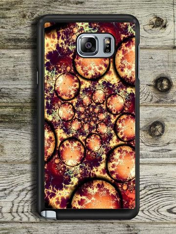 Abstract Spiral Painting Samsung Galaxy Note 5 Case