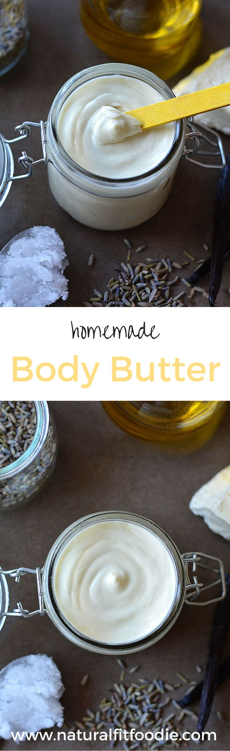 Homemade Body Butter - This luxurious homemade body butter is a real workhorse product. Use it for dry skin relief, as a diaper cream, belly butter, shave cream, baby eczema cream, nipple cream, cradle crap cream and so much more!