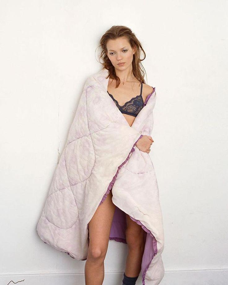 """Kate Moss """"Under-exposure"""", Vogue UK, June 1994 Ph…"""