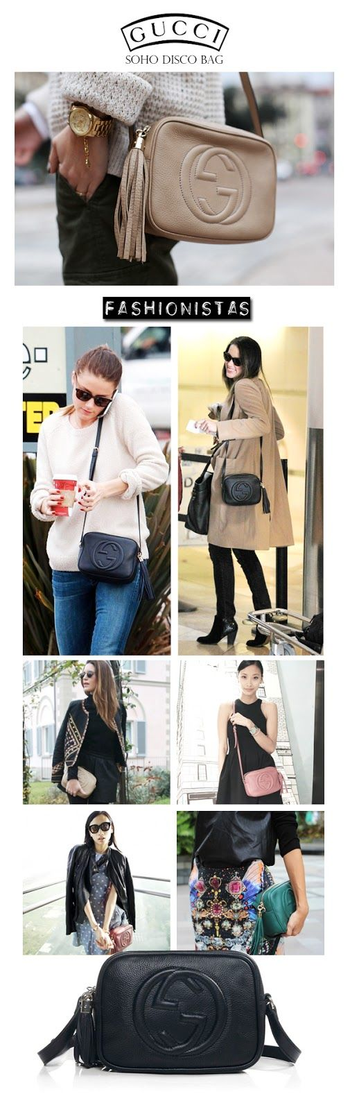Inseller has it! Celebrities show off with one of Gucci's must-have it-bags.