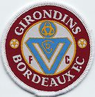Girondins Bordeaux FC Retro 80's/90's Football Badge Patch 7.1cm x 7.1cm www.wovenbadge.com