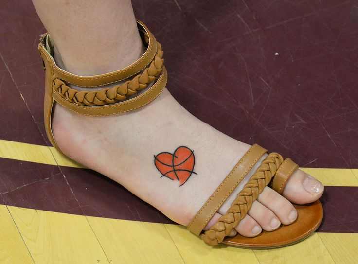 basketball Tattoos  | Basketball Tattoo in Lincoln Maine