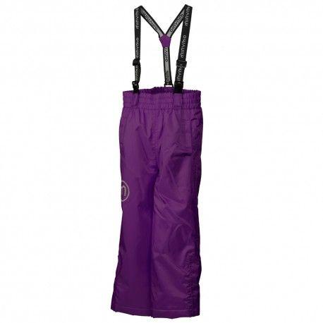 Snow pants, purple majestic solid, Minymo