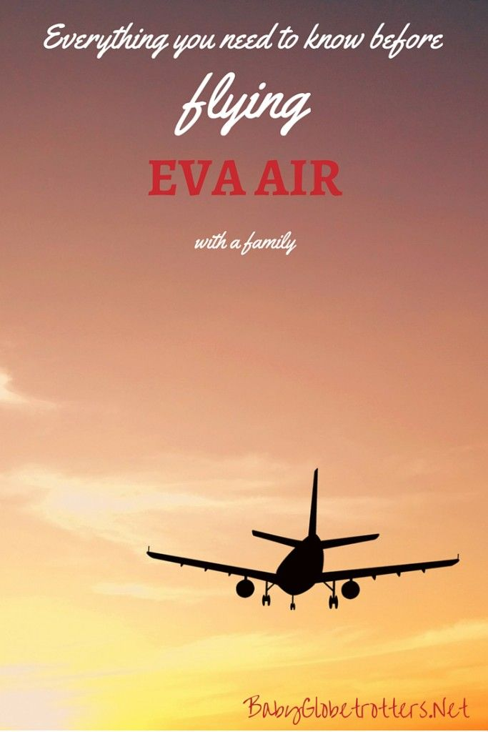 Family Flying Airline Review EVA Air | BabyGlobetrotters.Net