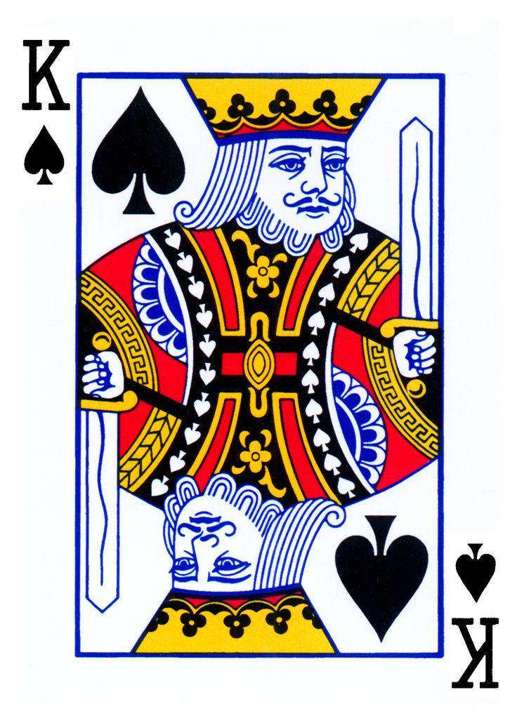 King card Illustration Inspiration Pinterest Playing