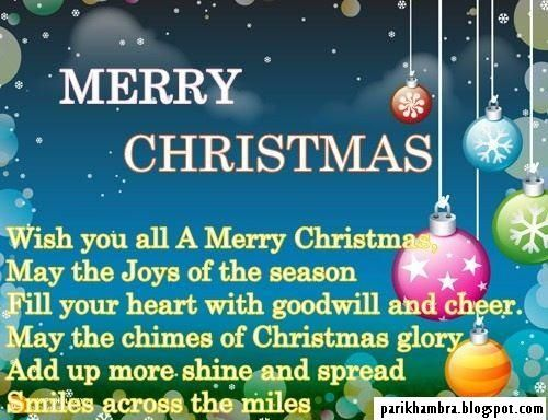 merry xmas quotes with pictures | Pari Khambra: Merry Christmas ...
