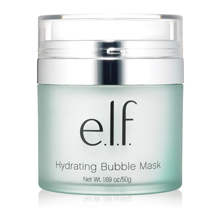NEW: Hydrating Bubble Mask. This hydrating gel transforms into bubbles that foam to remove excess dirt and cleanse pores for healthy looking skin. #playbeautifully #elfcosmetics