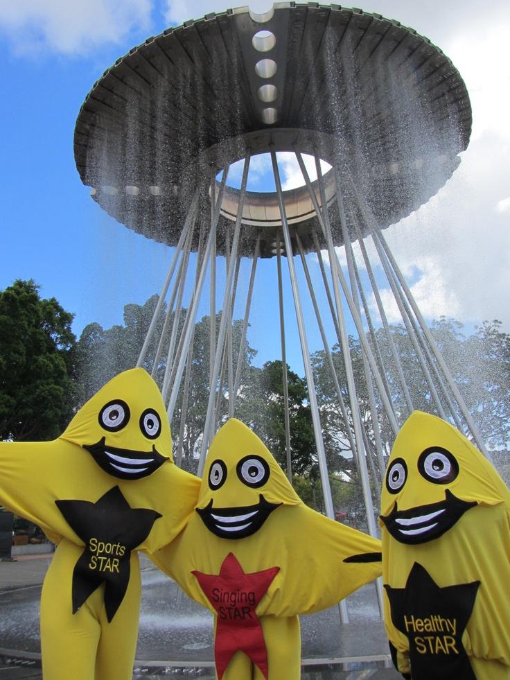 AussieSTARS at the Olympic Cauldron, Sydney Olympic Park