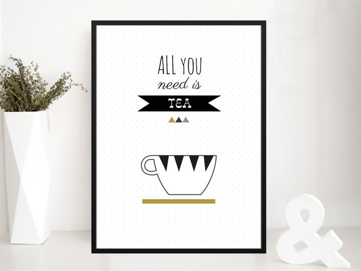 Image of Poster ALL YOU NEED IS TEA