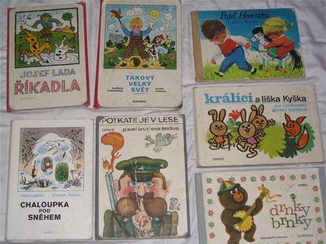 Dětské knížky - Dětské knížky z roku 1979.