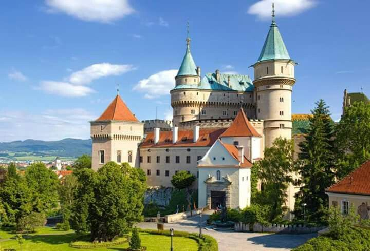Beautiful Bojnice Castle.