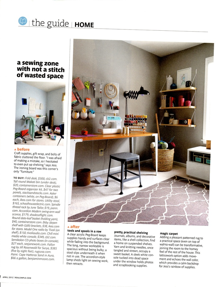 real simple office supplies. office inspiration real simple april 2012 supplies