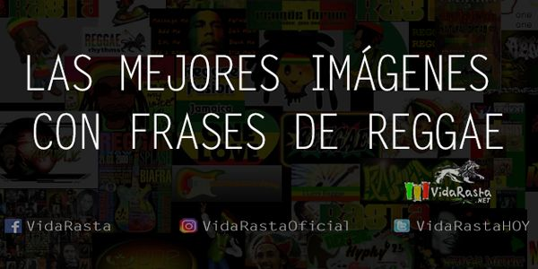 Las mejores imágenes con frases de Reggae en VidaRasta  #FrasesReggae #Reggae #Quotes #VidaRasta #Imágenesconfrases