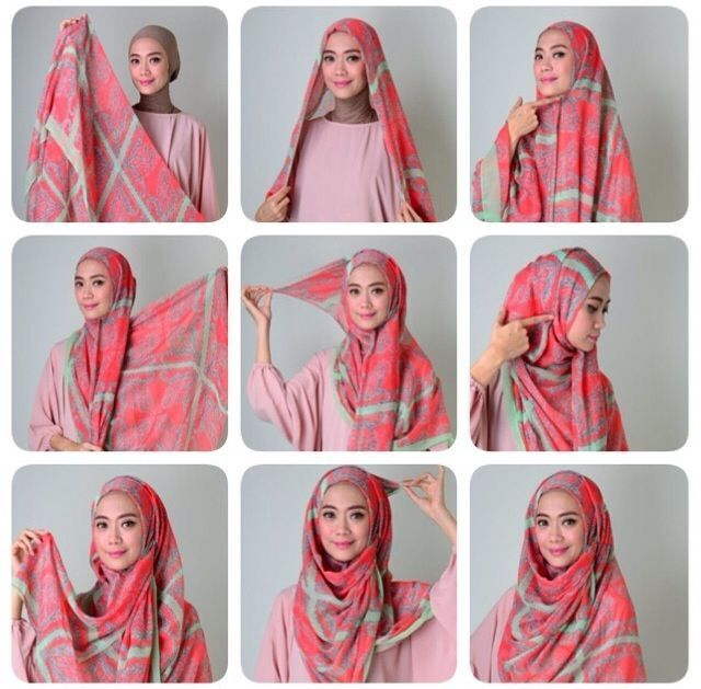 hijab tutorial coverage