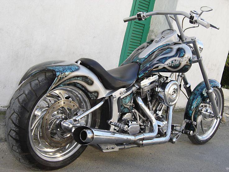 harley davidson custom motorcycles gallery | harley-davidson-chopper-14
