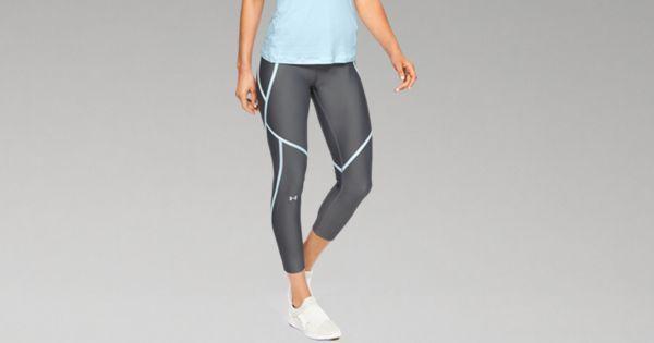 4f5e8fa7ad Women's HeatGear® Armour Edgelit Ankle Crop | Under Armour CA in ...