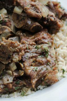 Soul Food Style Pork Neck Bones : iheartrecipes