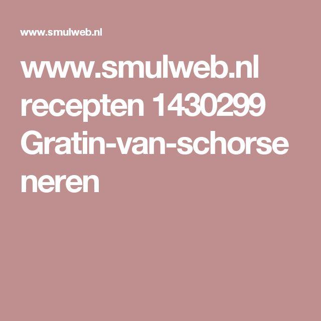 www.smulweb.nl recepten 1430299 Gratin-van-schorseneren