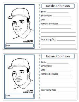 Jackie Robinson Baseball Card