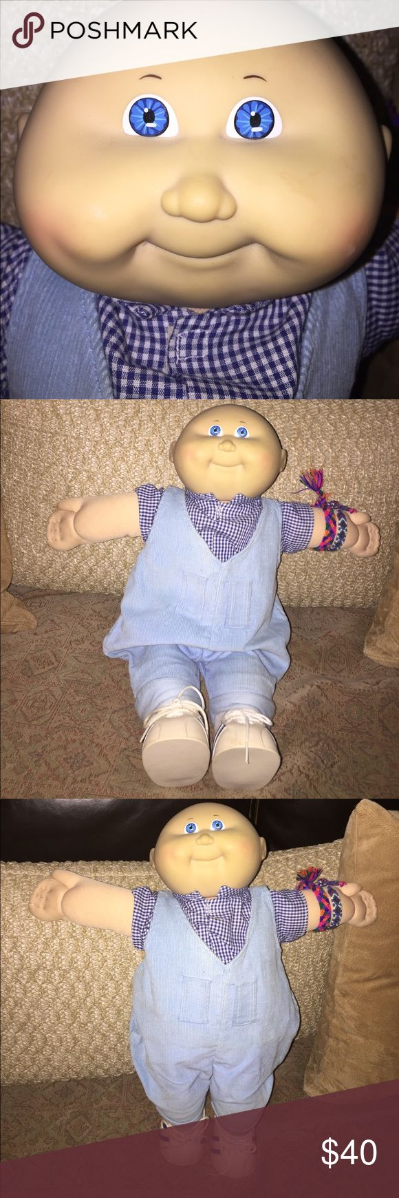 Authentic 1982 Cabbage Patch Baby Boy Authentic 1982 Cabbage Patch Baby Boy - no box or papers, but never played with. Clean and from pet and smoke free home. This Baby  Boy needs a family!!! Cabbage Patch Other