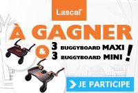 BuggyBoard de Lascal : la planche à roulettes pour poussette !