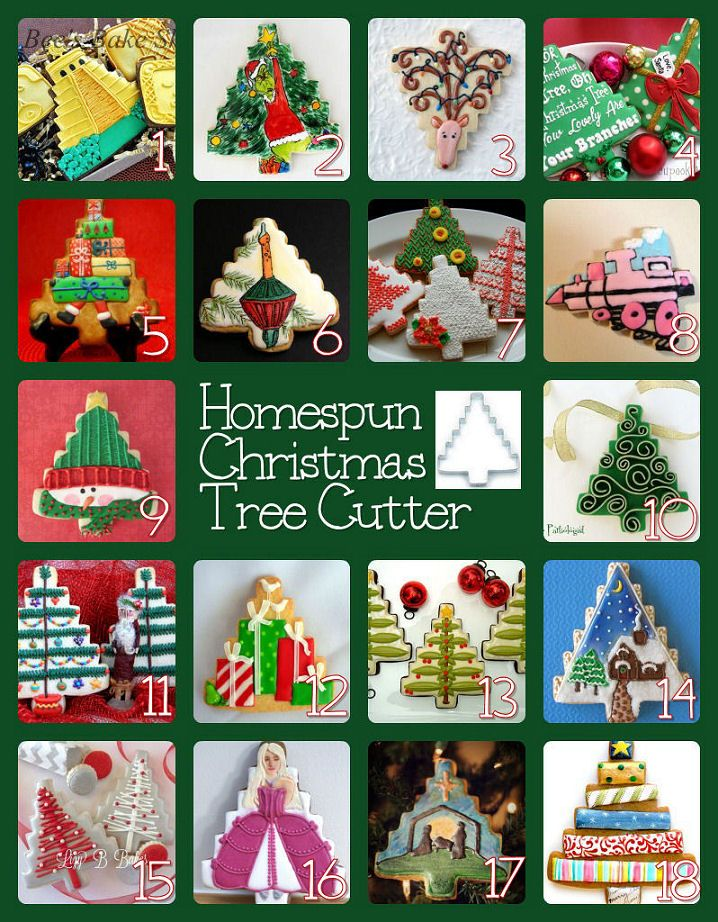 The Partiologist: Oh Christmas Tree Cookies! how to