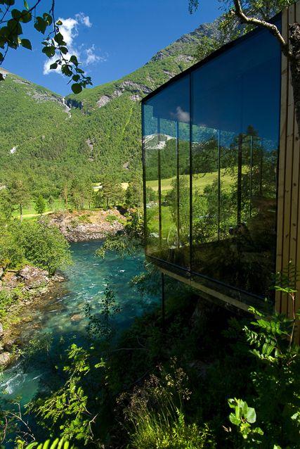 Juvet Landscape Hotel. Gudbrandsjuvet, Norway