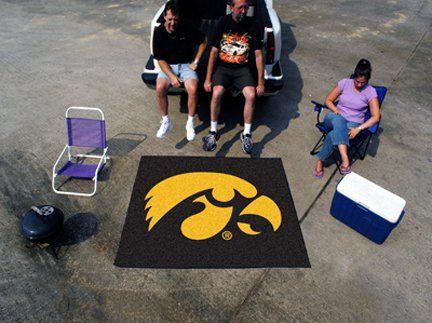 5' x 6' Iowa Hawkeyes Tailgater Mat
