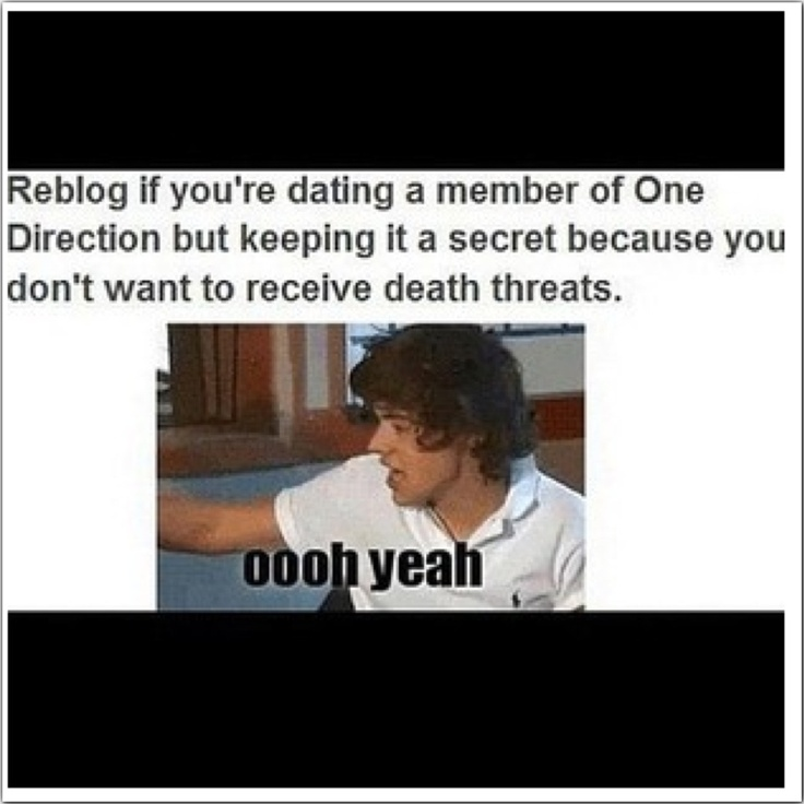I am totally secretly dating Niall ;
