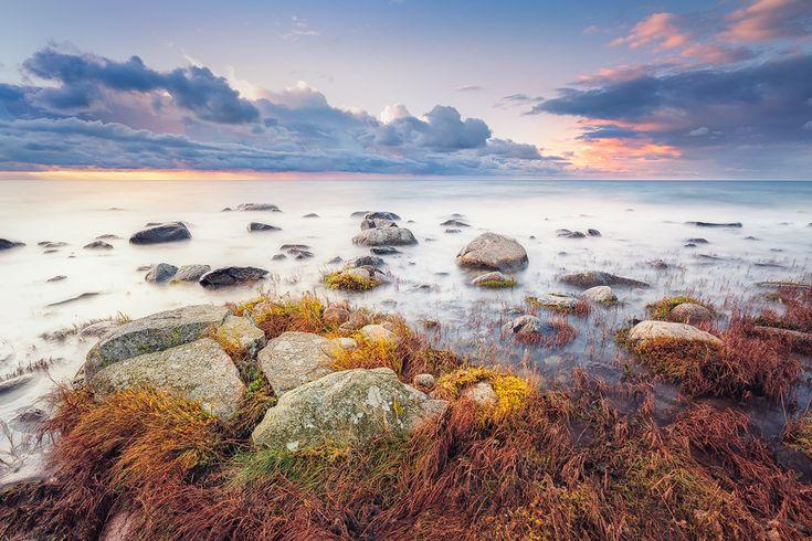 Am Kap Arkona (Wittow / Rügen), Dämmerung, Kap Arkona, Küste, Ostsee, Sonnenuntergang, Wolken
