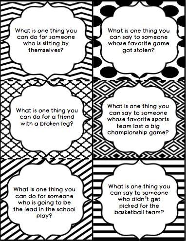 Empathy task cards- comprehensive 105 card set