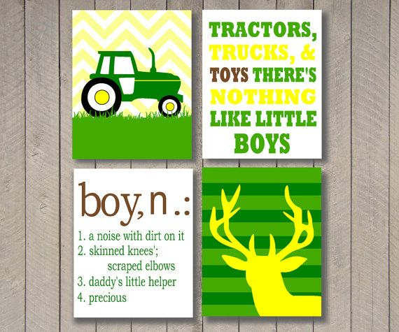 this wall art would be perfect for john deere theme, its only 6.00!