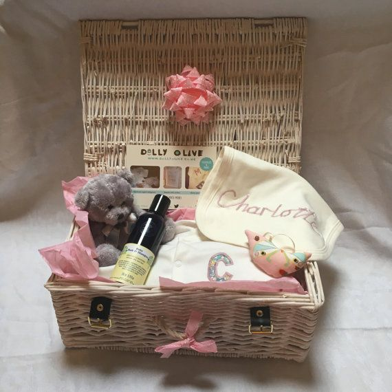 Personalised Baby Hamper-Organic Baby by DollyOliveShop on Etsy