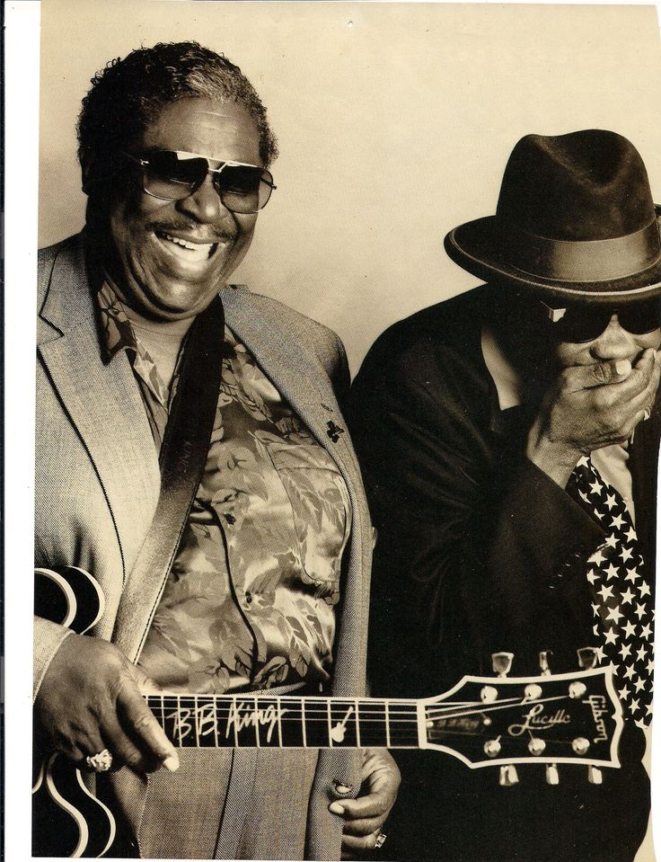 BB King and John Lee Hooker 1992