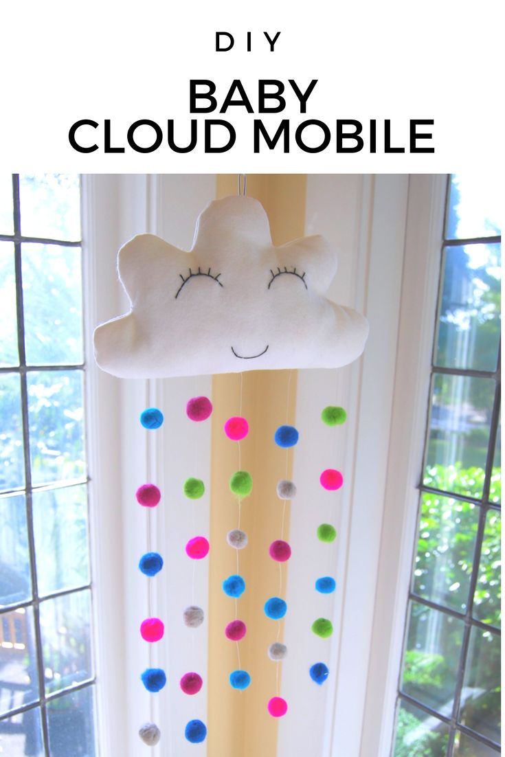 How to Make a Baby Cloud Mobile - Mamma Mode