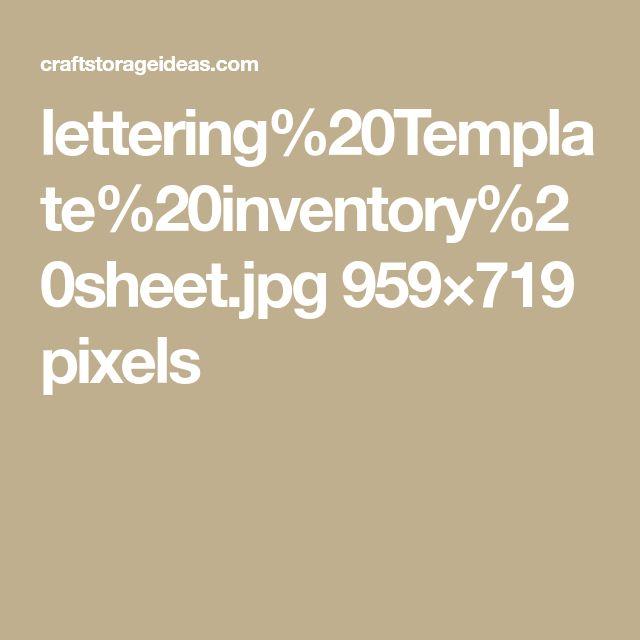 lettering%20Template%20inventory%20sheet.jpg 959×719 pixels