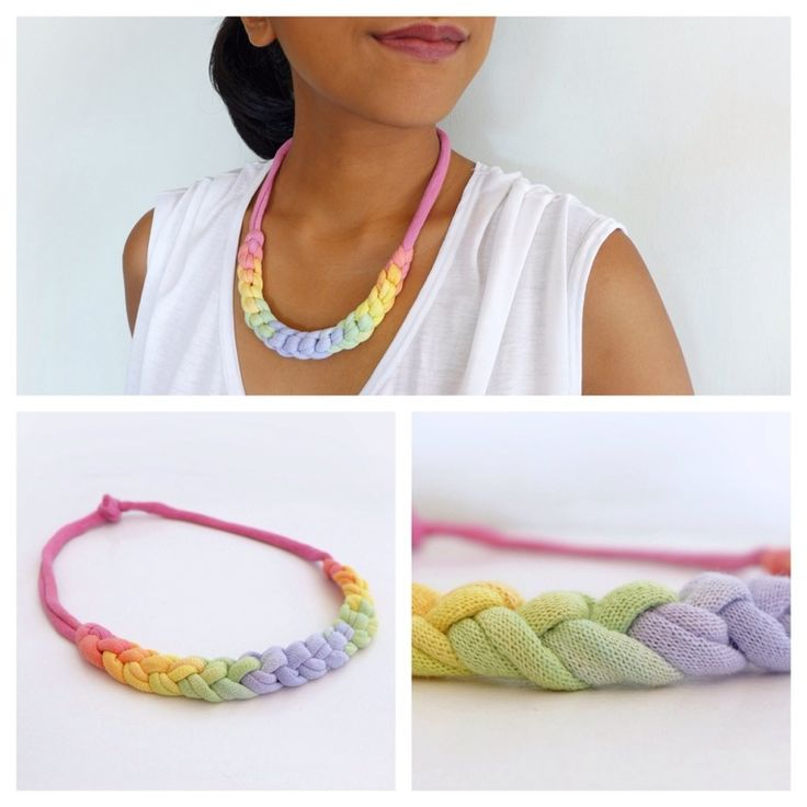 OMBRE BRAID NECKLACE Sold out