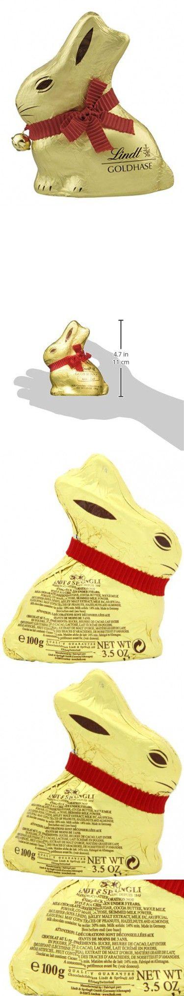 Lindt GOLD BUNNY - Milk Chocolate 3.5 Ounce