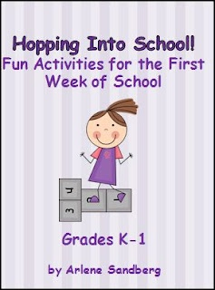 LMN Tree: 3 Great items still on sale-Hopping Into School, 2 Don't Get Skunked games for K and 1st- Check it out!!!