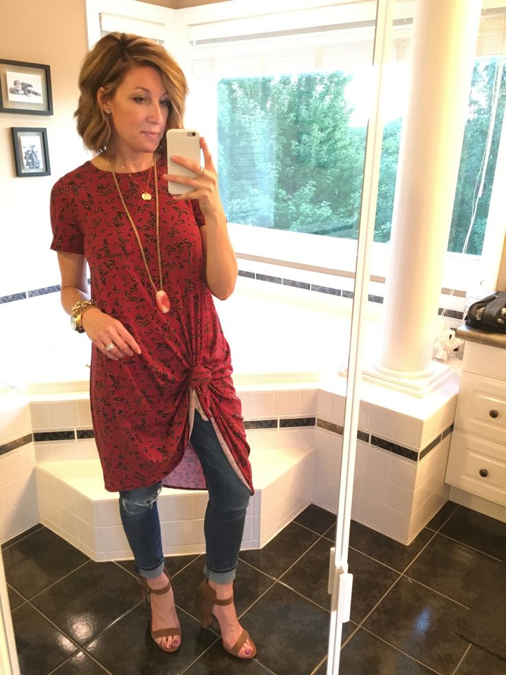 LuLaRoe Carly - styled 6 ways. LLR obsessed. Fall 2016 New style. Wear it with jeggings, a long pendant necklace and stacked sandals. Or layer with an army jacket
