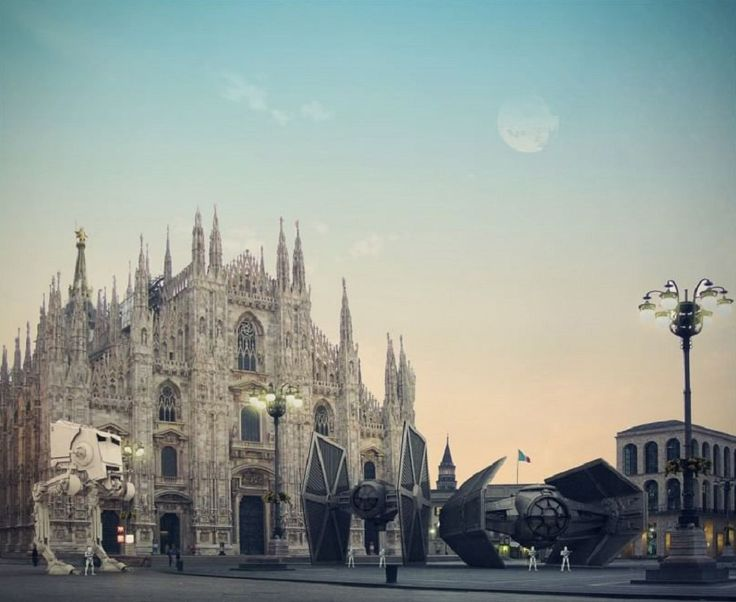 #Duomo #Milan #StarWars #AntonioVoto