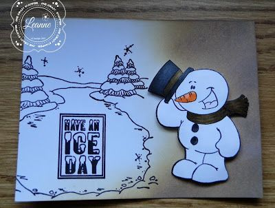 ONECRAZYSTAMPER.COM: Have an Ice Day by Leanne using High Hopes Stamps