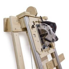 """Deluxe Panel Saw Kit - Wall Mount Version - Build your own panel saw accurate to 1/32"""".  Cut wood and plastic sheet goods quickly, accurately, and safely."""