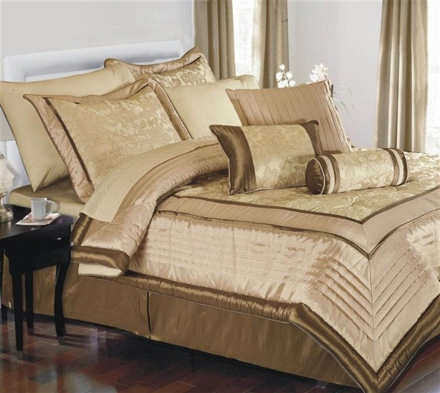 8 Luxury Bedrooms In Detail: Image Detail For -... KING DUVET COVER LUXURY JACQUARD BED